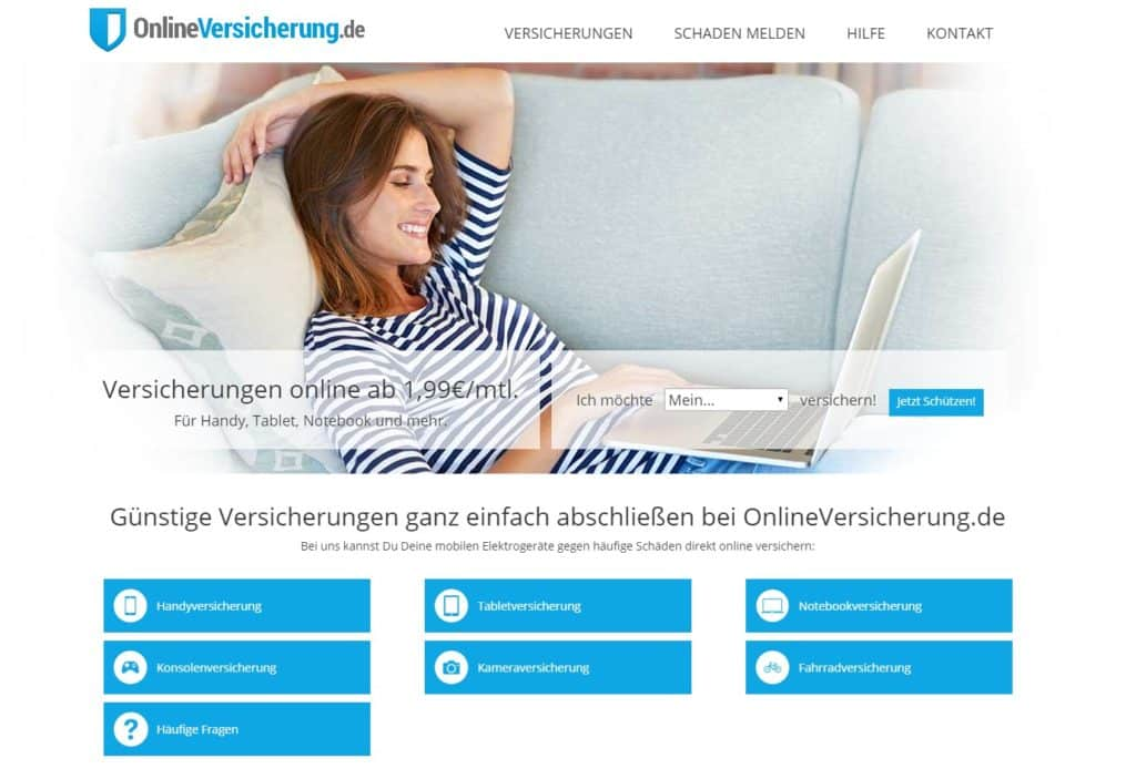 webseite von onlineversicherung.de