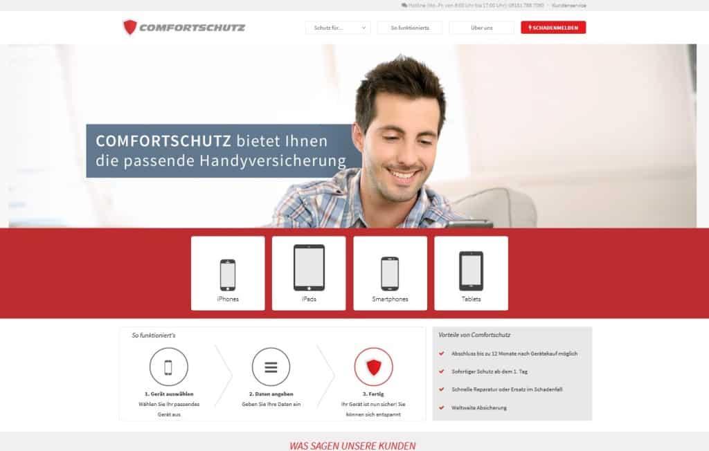 comfortschutz Webseite